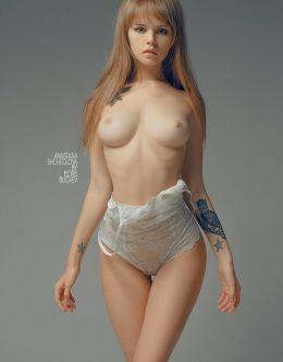 Анастасия Щеглова в эротичном нижнем белье