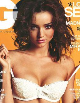 Полностью голая Миранда Керр на горячих фото из GQ
