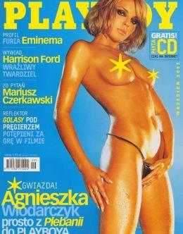 Голая Агнешка Влодарчик на горячих фото из Playboy