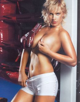 Полностью голая Наталья Рагозина на фото из Penthouse