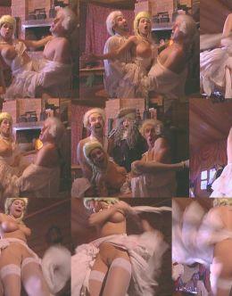 грудь и попа Любови Тихомировой в бане