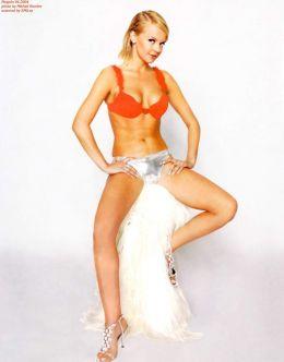 Эротические фото обнаженной Ирины Ортман из журналов