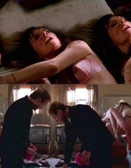 Откровенные постельные сцены с Кейт Бланшетт в нижнем белье