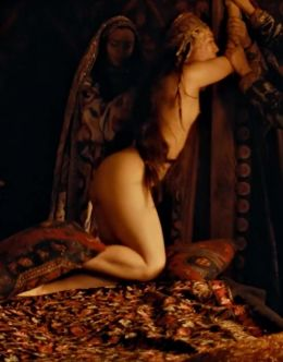 Голая Ян Гэ на эротических кадрах из кино