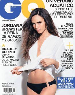 Голая Джордана Брюстер в GQ