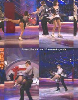 Засветы Валерии Ланской на шоу «Ледниковый период»