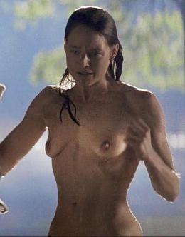 Голая Джоди Фостер на эротических кадрах из фильмов