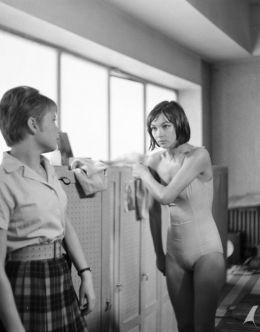 Голая Барбара Брыльска из фильма «Поздно после полудня» (1964)