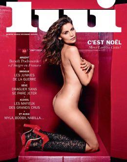Полностью голая Летиция Каста на фото из эротических журналов
