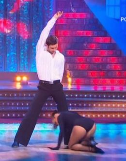 Горячее фото Анны Поповой из шоу «Танцы со звездами»
