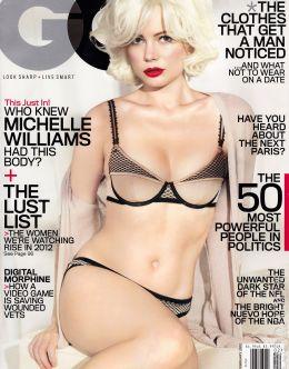 Горячие фото Мишель Уильямс в нижнем белье из GQ