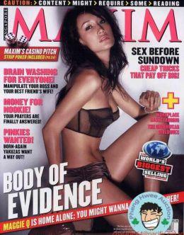 Горячие фото Мэгги Кью в нижнем белье из «Максим»