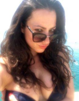 Катя Гершуни в купальнике