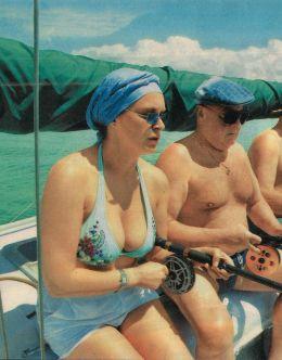 Фото Марины Могилевской в купальнике