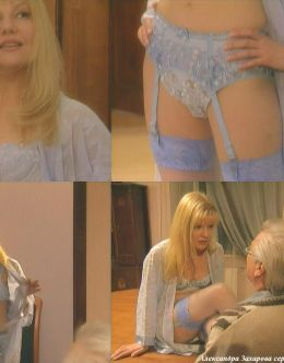 Александра Захарова в нижнем белье в сериале «Другая жизнь» (2003)