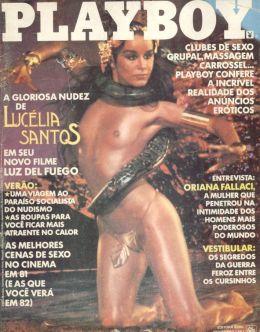 Голая Луселия Сантуш в «Плейбой»