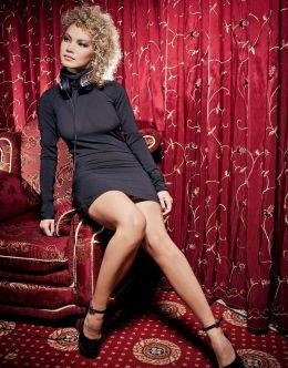 Горячие фото Елены Гущиной (ножки, декольте)