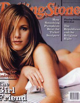 Дженнифер Энистон снялась разделась для мужских журналах
