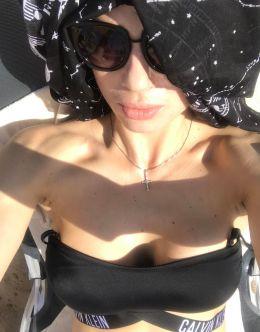 Анастасия Шунина-Махонина в купальнике