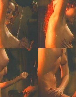 Голая Ольга Кабо на эротических кадрах из кино