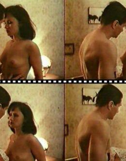 Эротические кадры с Ириной Шмелевой из фильма «Сказка на ночь» (1991)