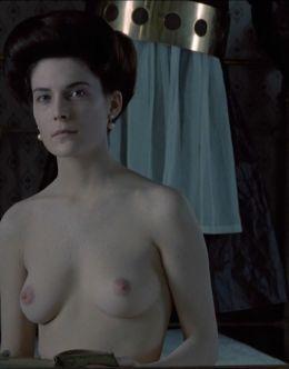 Голая Лара Флинн Бойл в фильме «Дорога на Вэлвилл» (1994) и в сериале «Ненасытный» (2007)