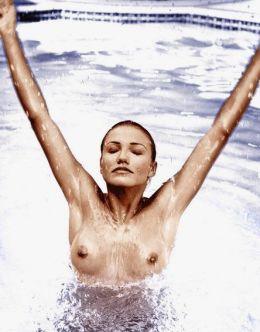 Голая Кэмерон Диаз на горячих фото из журналов