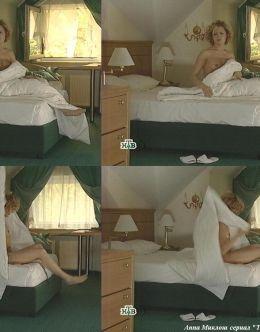 Откровенные кадры с Анной Миклош в сериале «Тамбовская волчица» (2005)