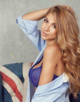 Дарья Глушакова в нижнем белье