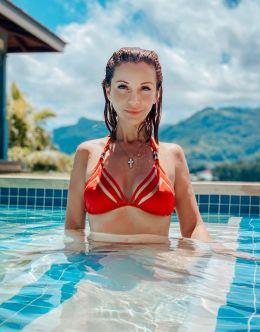 Ольга Орлова в купальнике