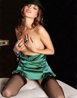 Эротические фото Азаровой из других журналов