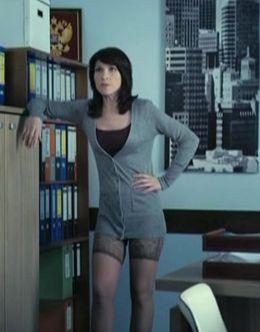 Светлана Камынина в чулках в сериале «Интерны»
