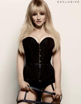 Мелисса Ройч в нижнем белье в журнале «Максим»