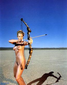 Эротические фото Джейми Прессли из журналов