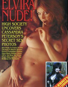 Полностью голая Кассандра Петерсон в молодости