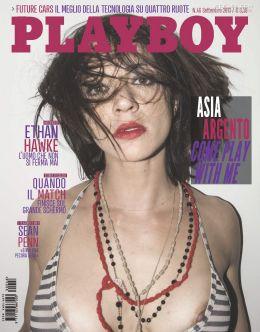 Голая Азия Ардженто в журнале «Плейбой» (2013)