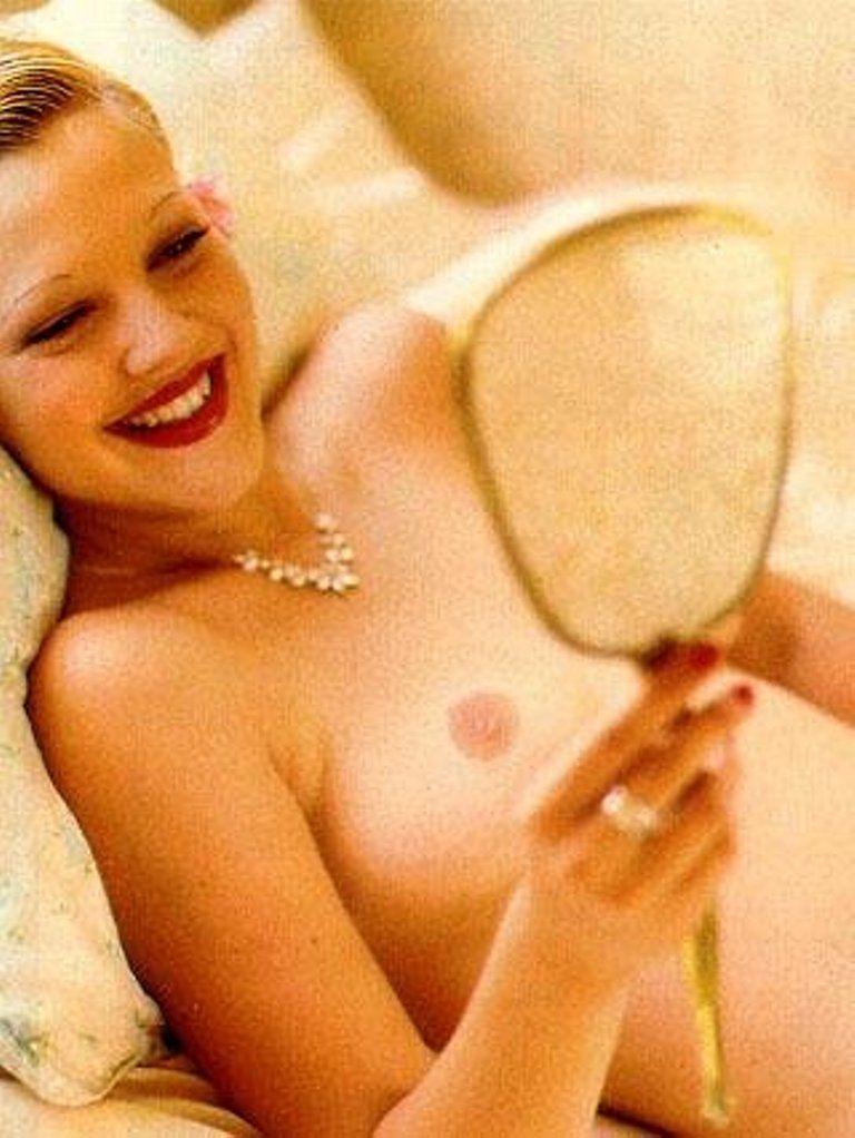 актриса дрю бэрримор эротическое фото она вытащила