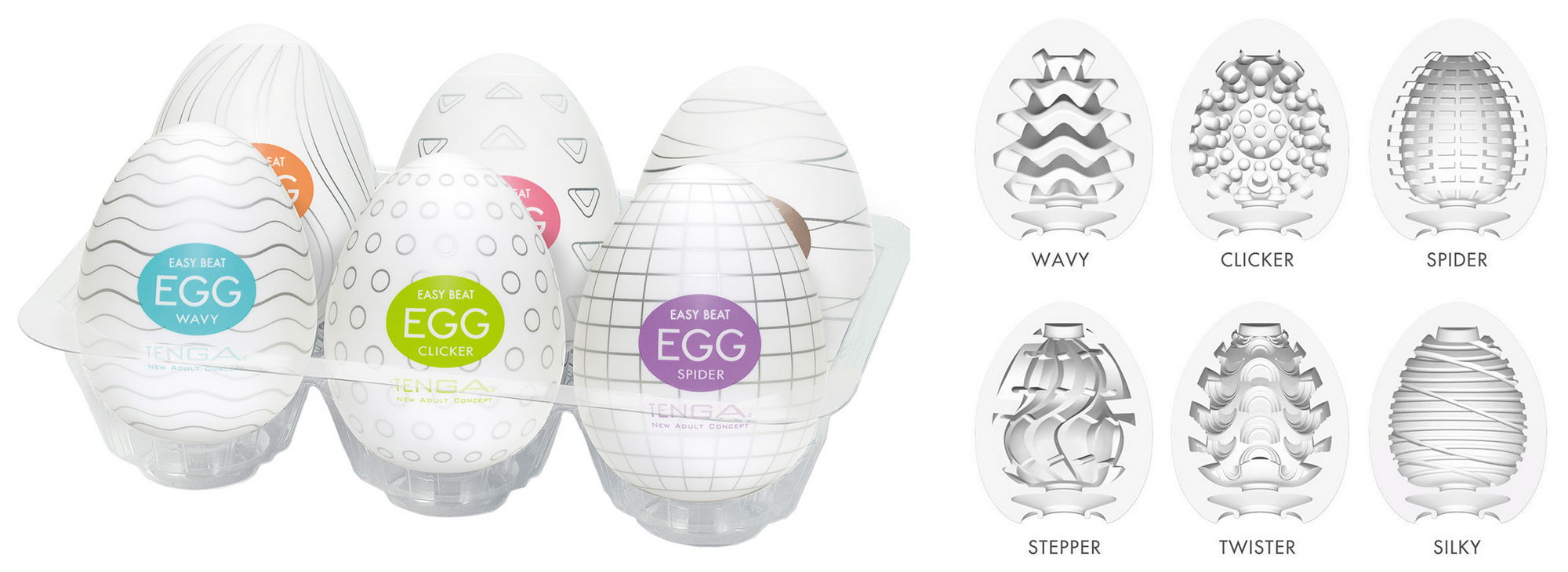 Tenga Egg Variety 1 Pack