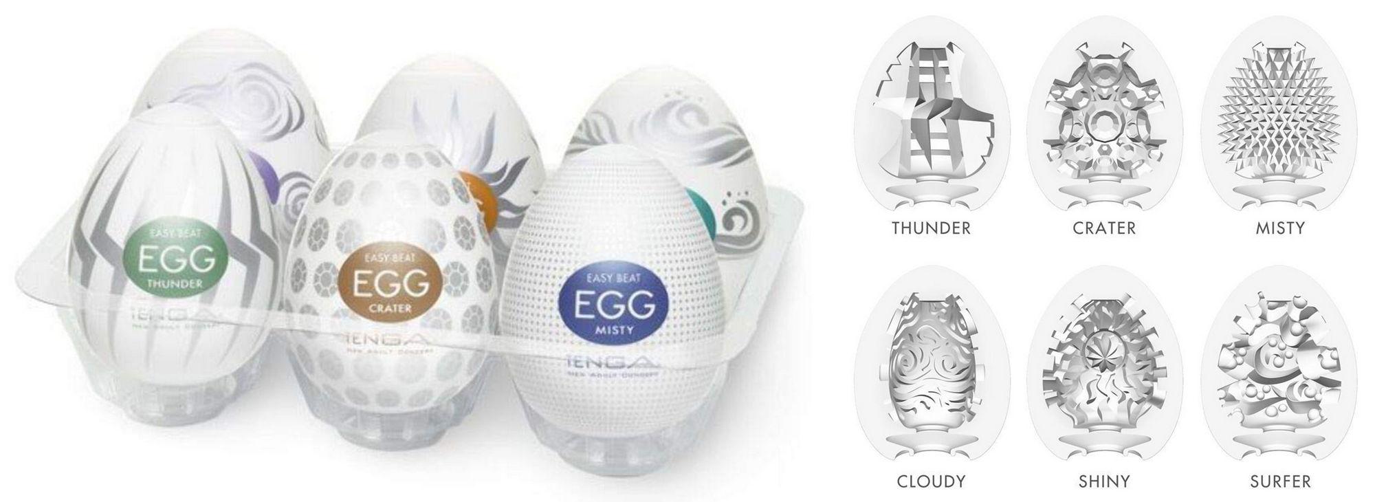 Tenga Egg Variety 2 Hard Boiled Pack