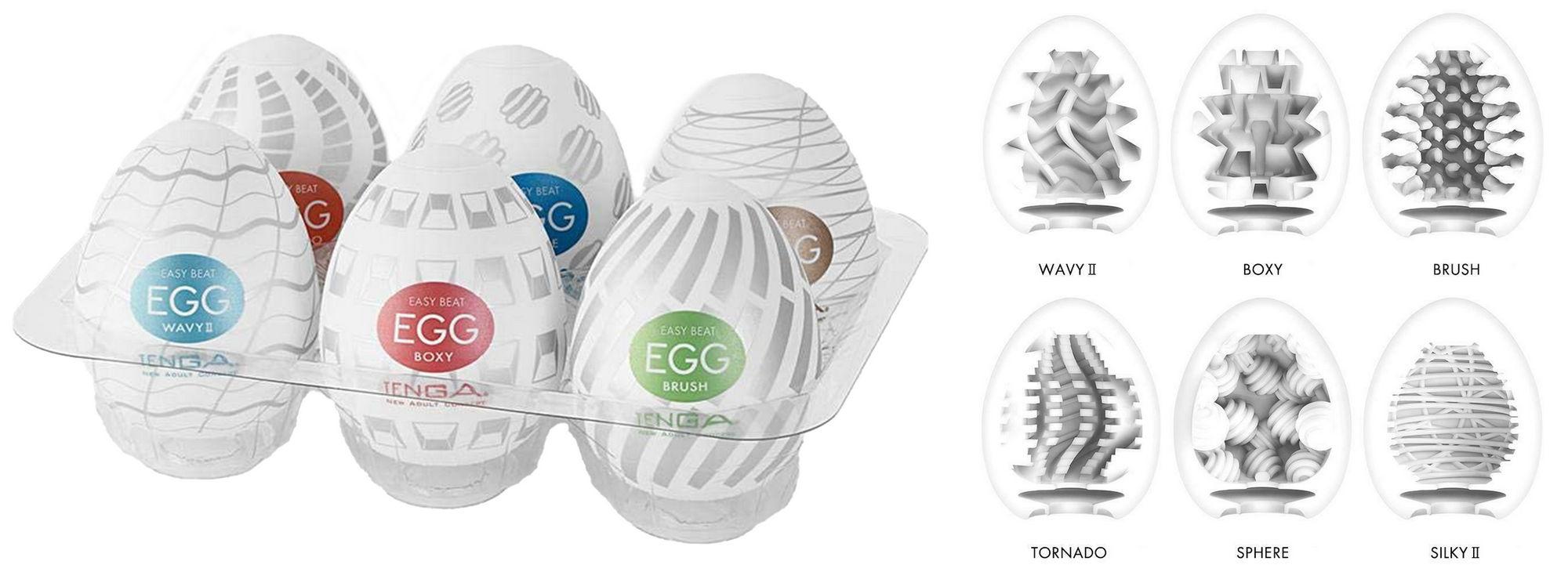 Tenga Egg Variety 3 Pack
